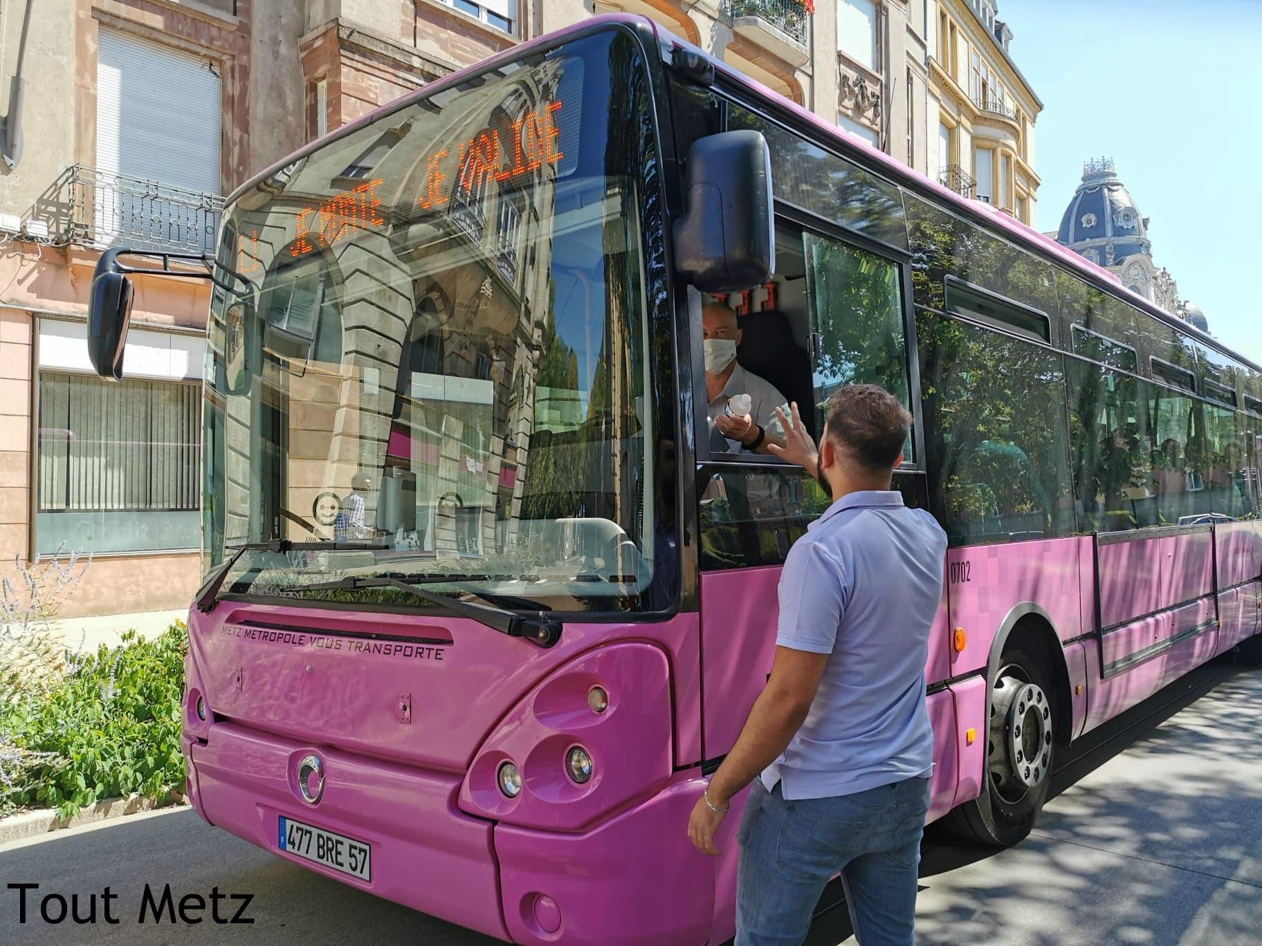 Photo de Metz : les horaires de bus passent à l'hiver
