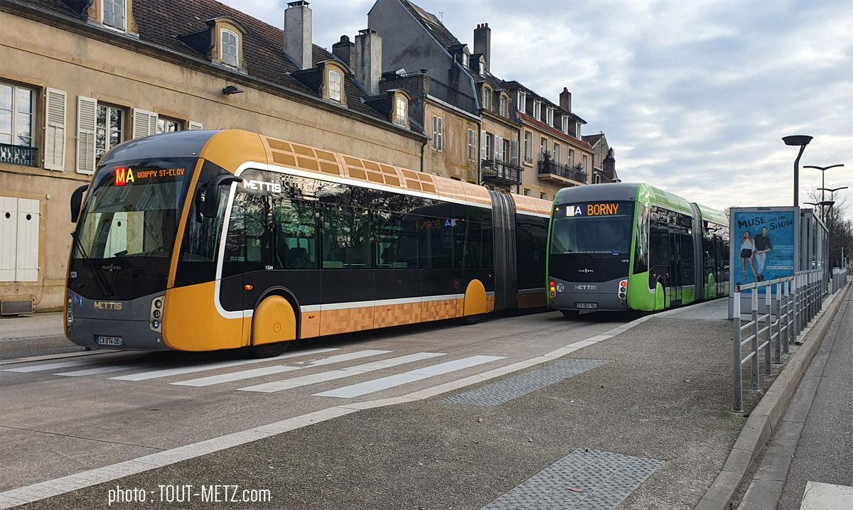 Photo de Une journée de bus à 1€ à Metz Métropole