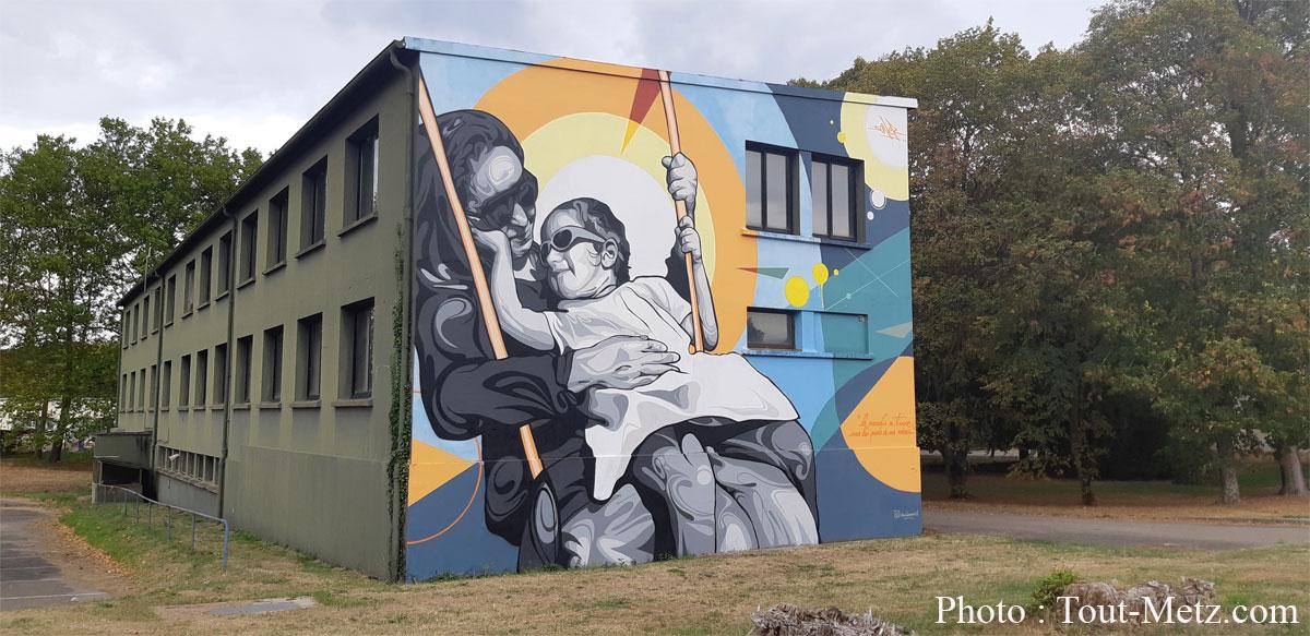 Photo de BA 128 de Metz Frescaty : une expo de graffitis XXL à découvrir