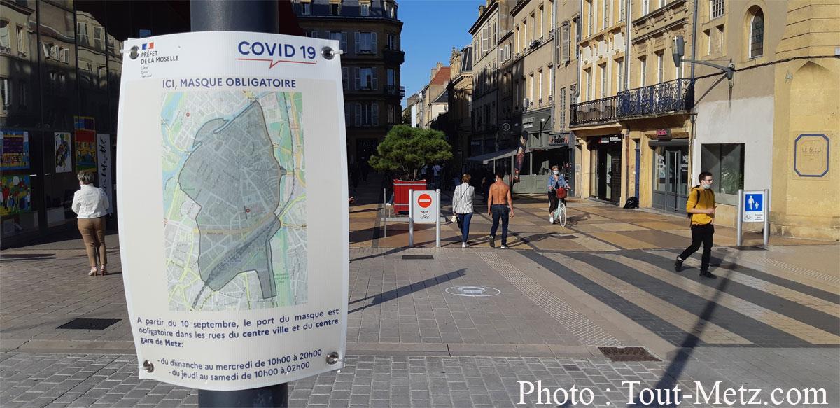 Photo de Covid en Moselle : le préfet s'exprime aujourd'hui sur la situation sanitaire