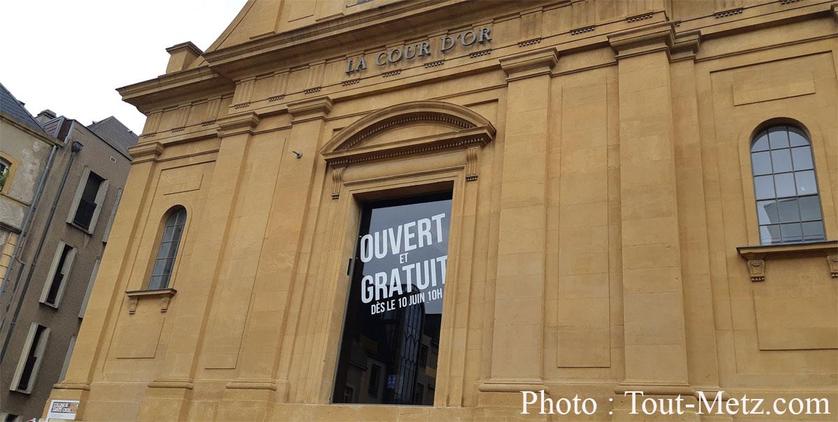 Photo de La gratuité de l'entrée du musée de la Cour d'Or de Metz devient permanente