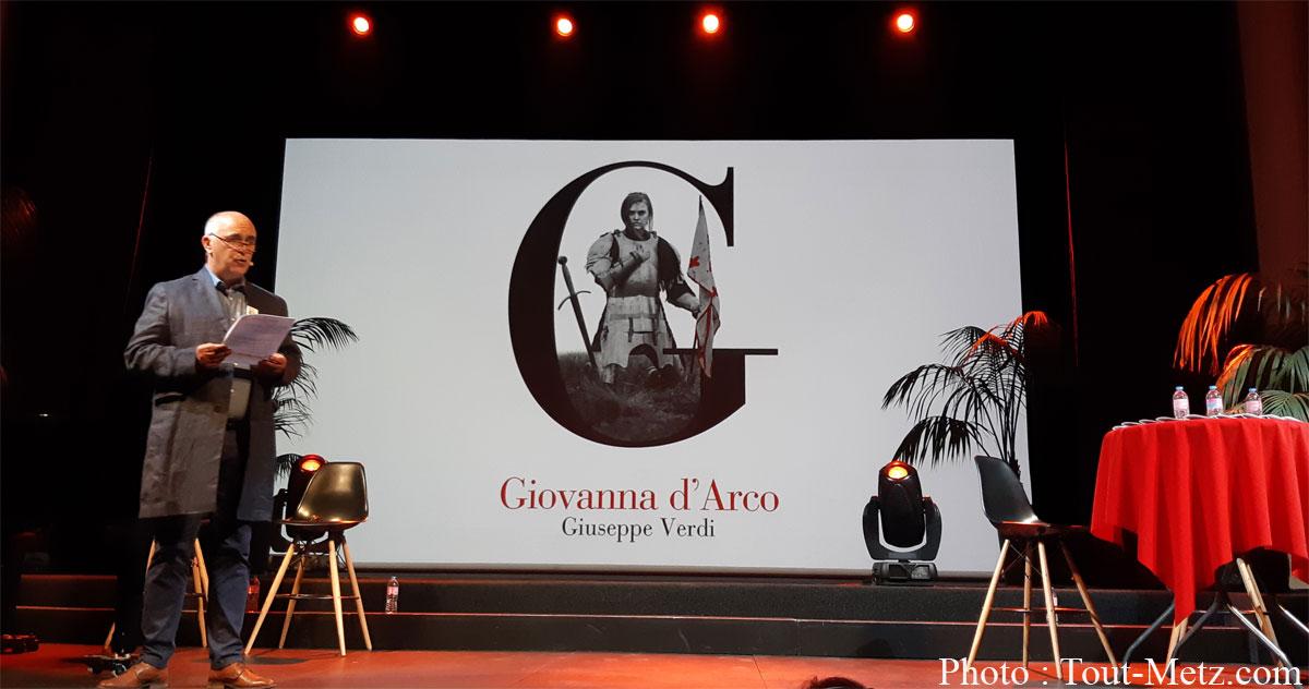 Photo de Metz : Giovanna d'Arco de Verdi ouvre la saison lyrique de l'Opéra-Théâtre