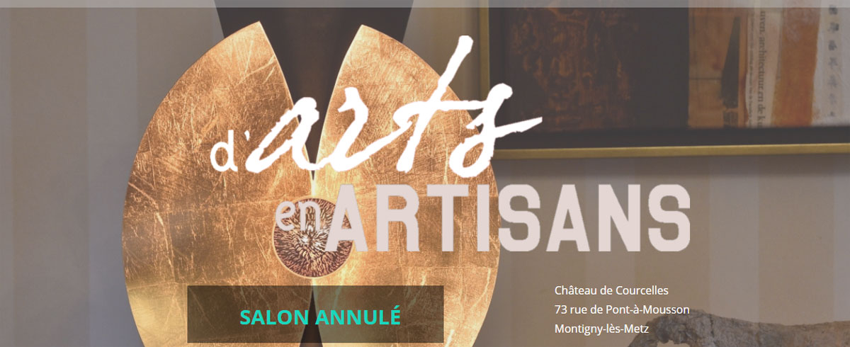 Photo de Montigny-lès-Metz annule son salon D'Arts en Artisans