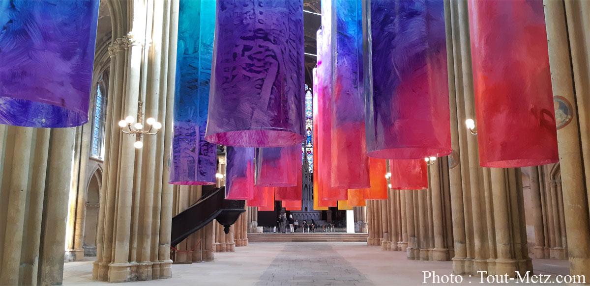 """Photo de Metz : plus que quelques jours pour voir l'installation """"IN/Fadazma"""""""