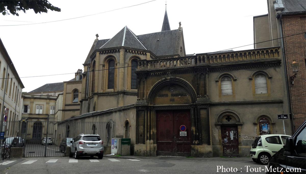 Photo de Travaux au lycée Fabert à Metz : des rues interdites à la circulation
