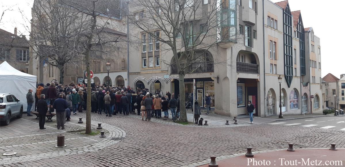 Photo de Place Jeanne d'Arc à Metz : bientôt une zone de rencontre