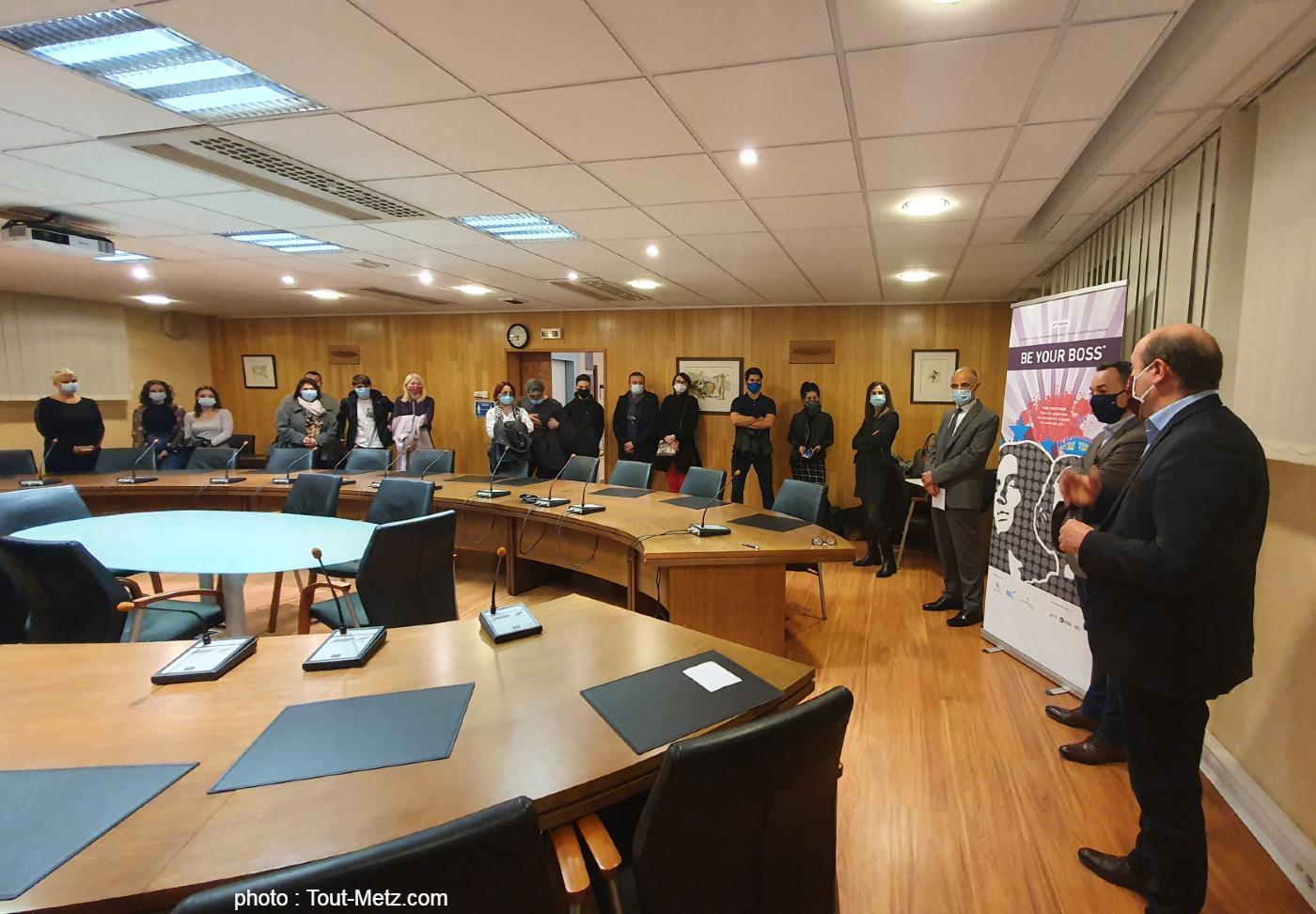"""Photo de """"Be your boss"""" 2020 : les graines d'entrepreneurs récompensées à Maizières-lès-Metz"""